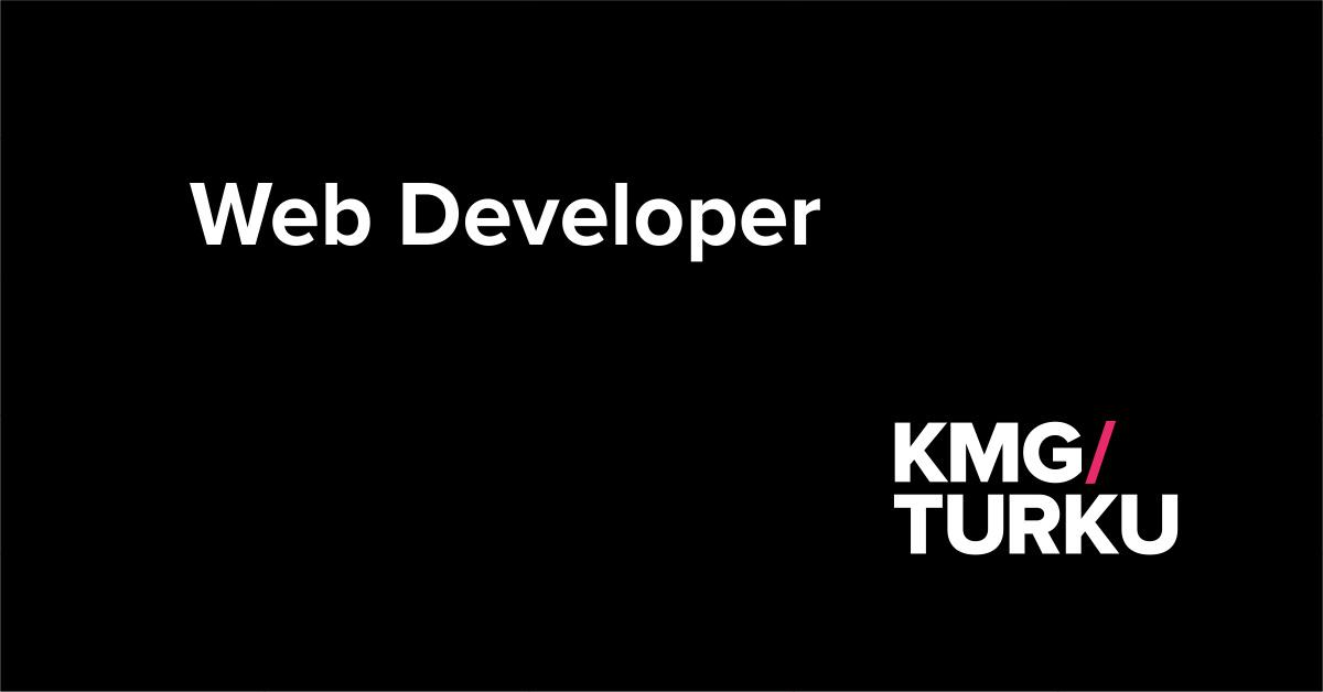 Rekry: Web Developer